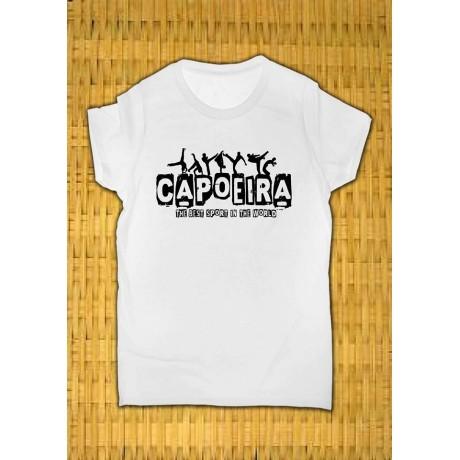 Camiseta de capoeira infantil