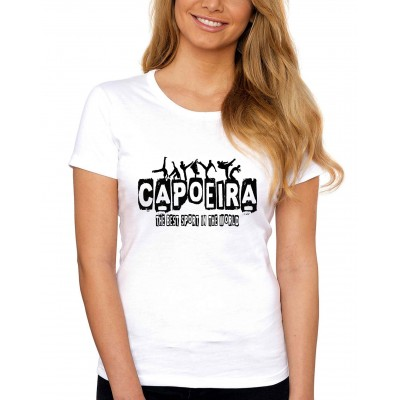 Tee-shirt Capoeira Woman Best Sport