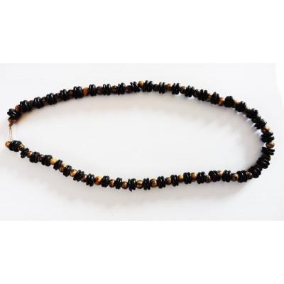 Halskette in der brasilianischen Acai und Coco