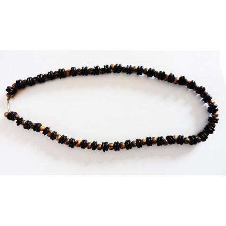 Brazilian necklace in Açaï et Coco