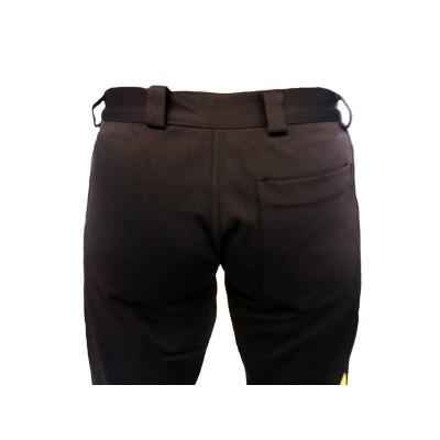 Pantalon Angola Noir et Jaune