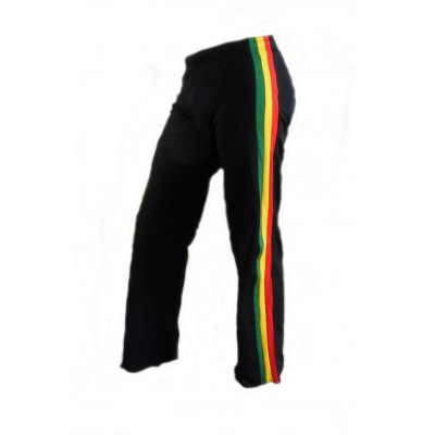 Capoeira Hose Schwarz Jamaica