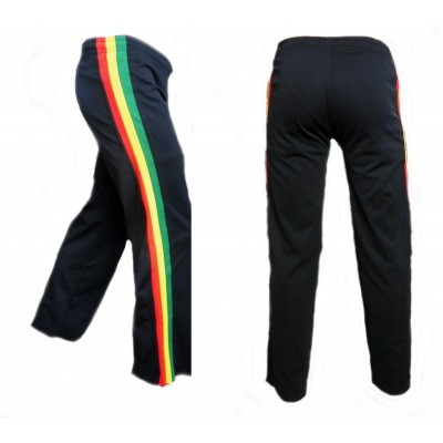 Kids Capoeira trousers Jamaica black