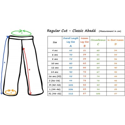 White Capoeira pants red striped