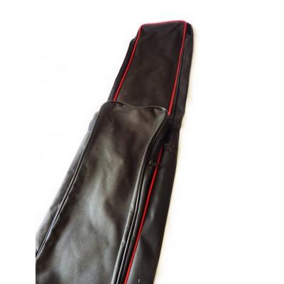 Capa para berimbau. (12-14 vergas) Vermelha