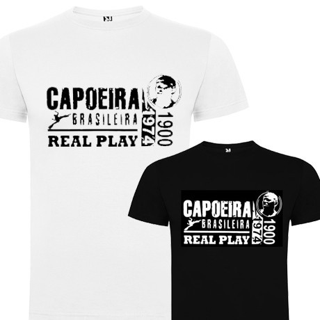 Men's Capoeira T Shirt - Real Play