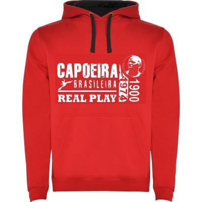 Sudadera Capoeira - Unisex Real Play Roja
