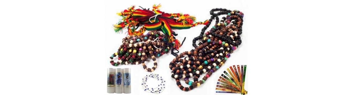 Brazilian jewelry: capoeira necklace, acai bracelet. Caipim Dourado, vegetal gold. Ethics and quality.