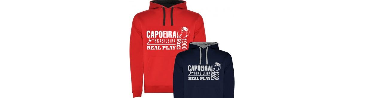 Roupas para o Capoeirista. Sweatshirts e camisolas. Envio 24h
