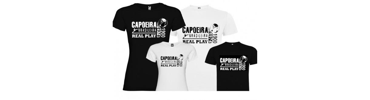 T-shirt Capoeira. Débardeurs et tenue de capoeira homme femme enfant.