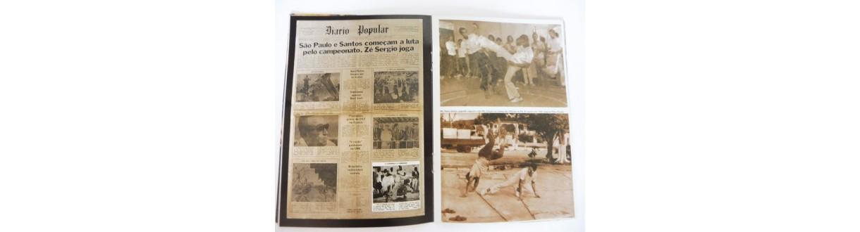 Livros de Capoeira. História, Cultura, Mestres Bimba e Pastinha,