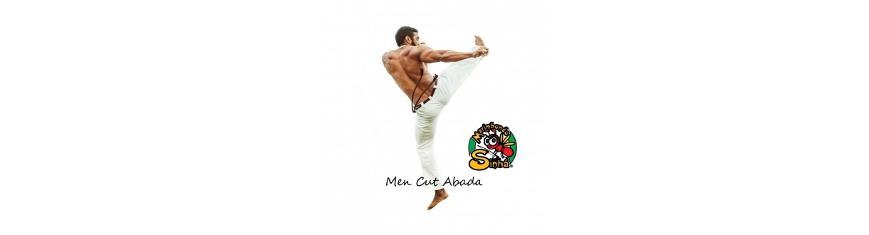 Men's Capoeira Pants: Official Abada, cotton jogging. 24h dispatch.