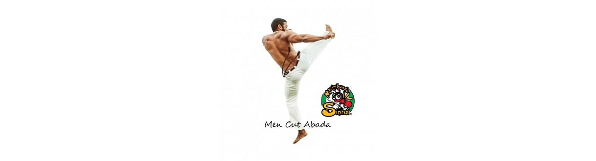 Pantaloni Capoeira da uomo: Ufficiale Abada, jogging in cotone. 24/48h