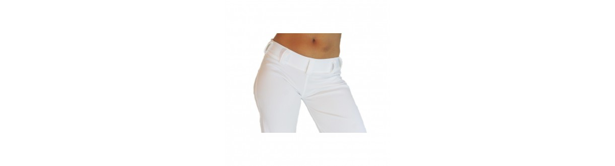 Pantalon Capoeira Femme : Abada officiel, jogging en coton. Envoi 24h.