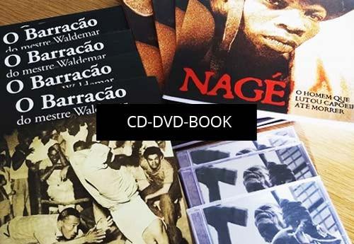 Cd, dvd, books of Capoeira